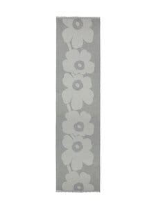 Marimekko - Sue Jacquard Juhla-Unikko -villahuivi - 099 GREY, LIGHT GREY | Stockmann