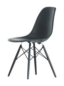 Vitra - Eames DSW -tuoli - DEEP BLACK, BLACK MAPLE 30 | Stockmann