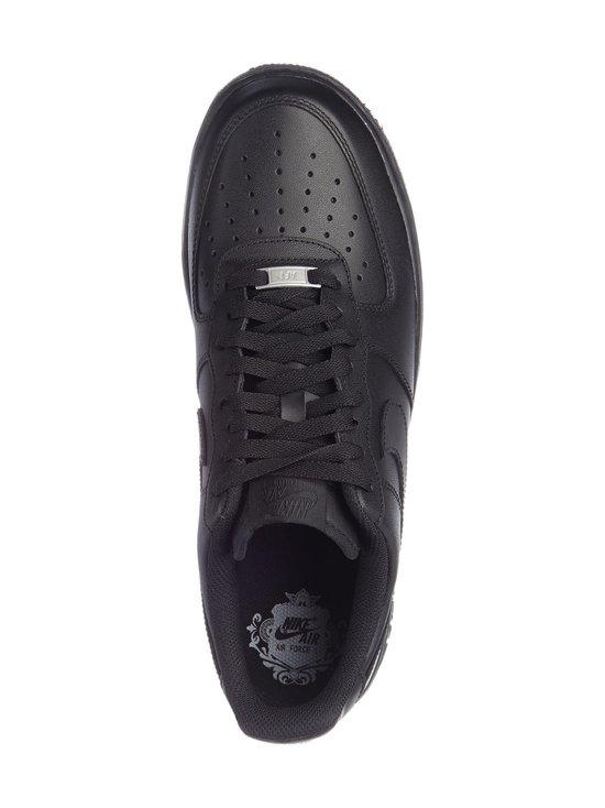 Nike - U Air Force 1 '07 -nahkasneakerit - MUSTA   Stockmann - photo 2