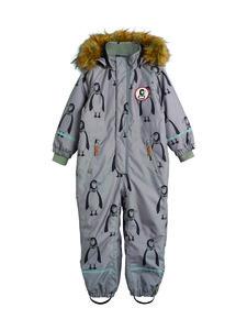 Mini Rodini - Kebnekaise Penguin Overall -toppahaalari - GREY | Stockmann