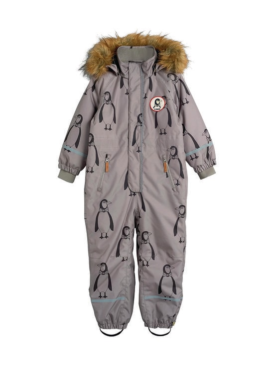 Mini Rodini - Kebnekaise Penguin Overall -toppahaalari - GREY | Stockmann - photo 1