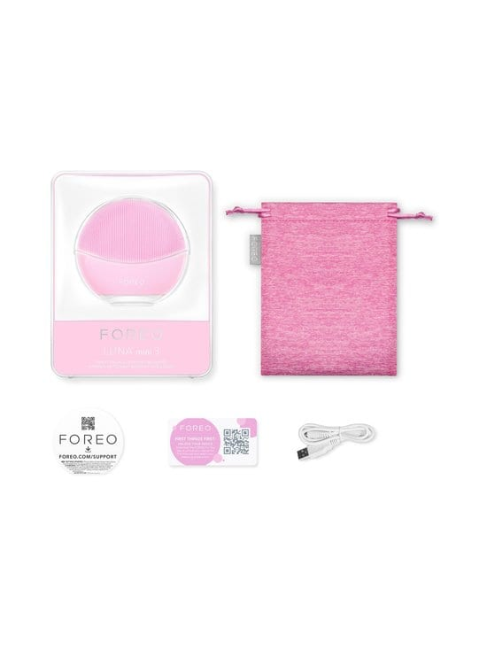 Foreo - LUNA mini 3 -älykäs kasvojenpuhdistuslaite - PEARL PINK | Stockmann - photo 1