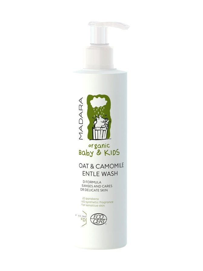 Oat and Camomile Gentle Baby Wash -puhdistusvaahto 190 ml