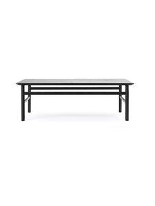 Normann Copenhagen - Grow-pöytä 40 x 120 x 70 cm - BLACK   Stockmann
