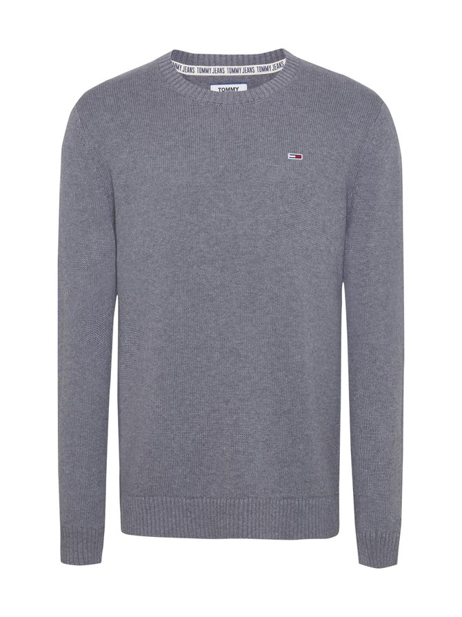 Tommy Classic Flag Patch Jumper -puuvillaneule
