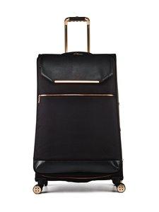Ted Baker London - Albany Large 4 Wheel Trolley -matkalaukku - BLACK 001 | Stockmann