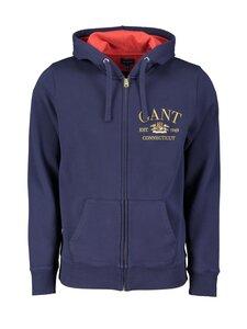 GANT - Flag Crest Full Zip Hoodie -huppari - 409 CLASSIC BLUE   Stockmann