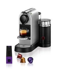 Nespresso - Citiz & Milk -kapselikahvinkeitin - SILVER | Stockmann