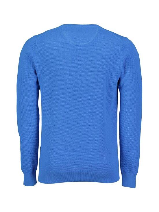 GANT - Cotton Pique C-Neck -puuvillaneule - 416 CLEAR BLUE | Stockmann - photo 2
