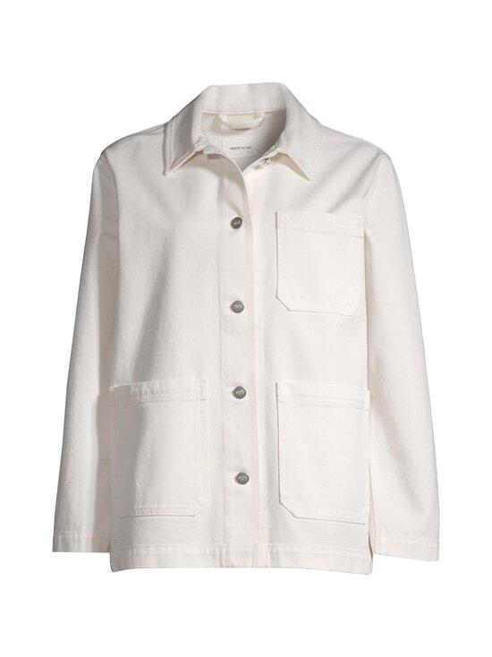 Wood Wood - Mary-Ann Denim Jacket -farkkutakki - 0005 OFF WHITE | Stockmann - photo 1