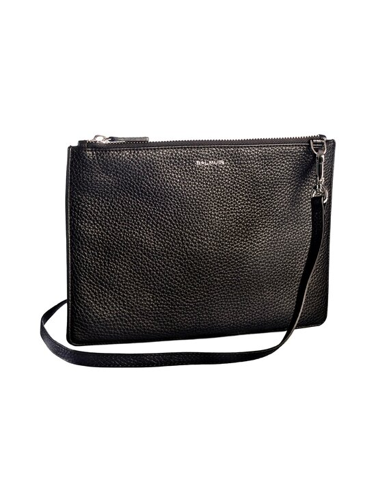 Balmuir - Crossbody Leather Bag -nahkalaukku - 310S BLACK/SILVER | Stockmann - photo 1