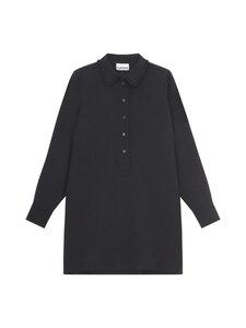 Ganni - Heavy Crepe Dress -mekko - BLACK | Stockmann