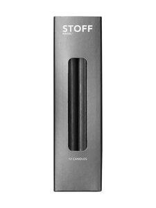 STOFF Nagel - Kynttilä 180 mm, 12 kpl - BLACK | Stockmann