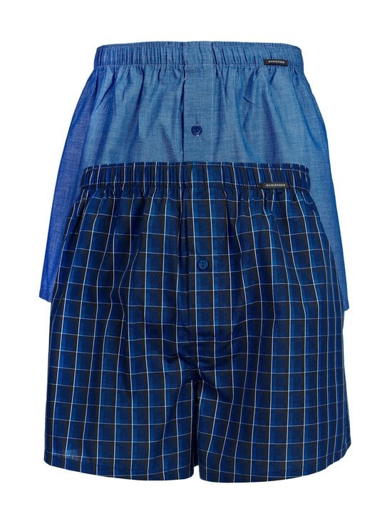 Schiesser - Bokserit 2-pack - ROYAL BLUE   Stockmann - photo 1