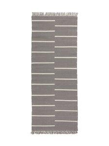 Casa Stockmann - Molden-puuvillamatto 80 x 200 cm - ALLOY GRAY/OFF-WHITE | Stockmann