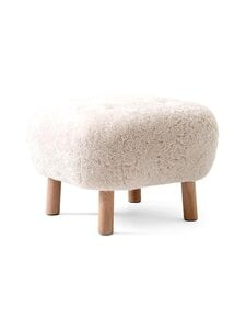 &tradition - Pouf ATD1 -rahi - WHITE OILED OAK / MOONLIGHT | Stockmann