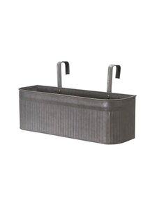 Wikholm Form - Amber Balcony Pot S -istutuslaatikko - GREY ZINC | Stockmann