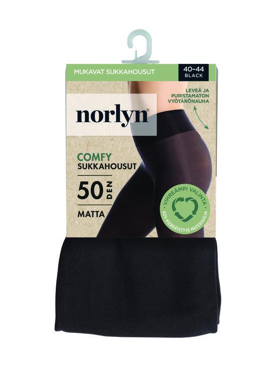 Norlyn - Comfy 50 den -sukkahousut - 1210 BLACK | Stockmann - photo 1