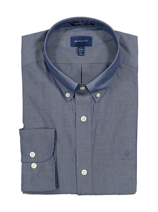 GANT - Pinpoint Oxford Slim Fit -kauluspaita - 423 PERSIAN BLUE | Stockmann - photo 1