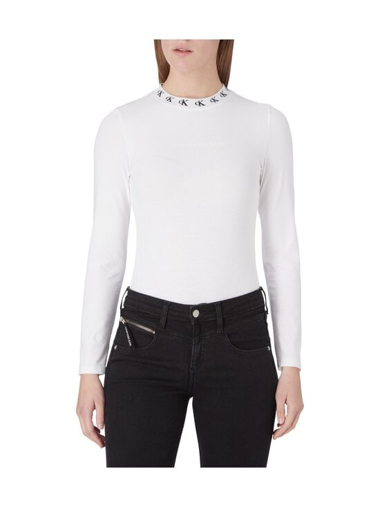Calvin Klein Jeans - CK LOGO TRIM -body - YAF BRIGHT WHITE | Stockmann - photo 3
