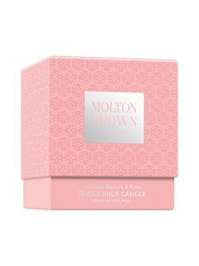 Molton Brown - Delicious Rhubarb & Rose Single Wick Candle -tuoksukynttilä 180 g - null | Stockmann