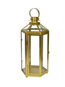 Havi's - Kynttilälyhty 36 cm - GOLD | Stockmann