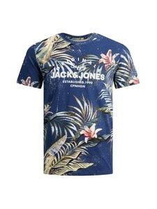 JACK & JONES junior - JJPop Print -t-paita - NAVY BLAZER | Stockmann