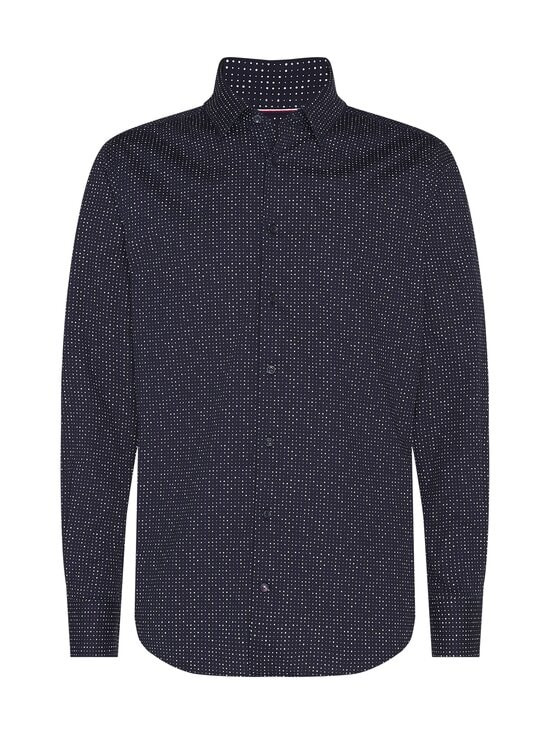 Tommy Hilfiger Tailored - Flex Dot Slim Wide -kauluspaita - 0GY NAVY/WHITE | Stockmann - photo 1