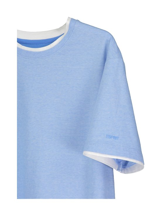 Esprit - T-paita - 412 BRIGHT BLUE 3 | Stockmann - photo 3