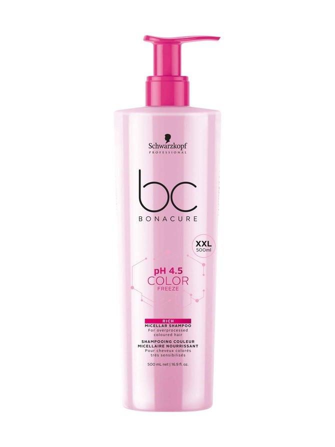 pH 4.5 Color Freeze Rich Micellar Shampoo 500 ml