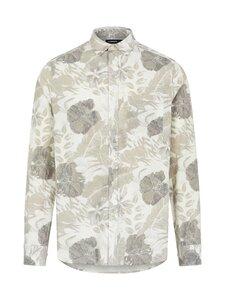 J.Lindeberg - Seasonal Print Reg Fit Shirt -kauluspaita - A003 CLOUD WHITE | Stockmann
