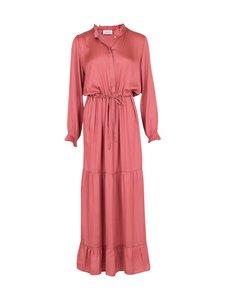 Neo Noir - Silo Solid Sateen Dress -mekko - 630 DUSTY ROSE   Stockmann