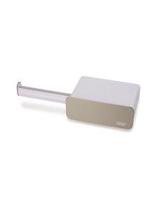 Joseph Joseph - EasyStore Steel Wall-mounted Toilet Roll Holder -wc-paperiteline - WHITE | Stockmann