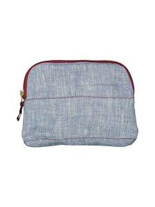 Gauhar Helsinki - Linen Cosmetic Bag -kosmetiikkapussi - BLUE | Stockmann