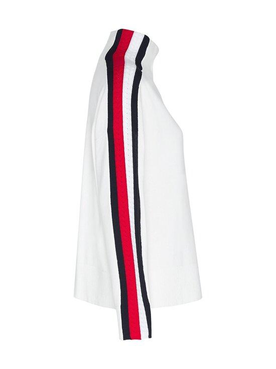 Tommy Hilfiger - Side Stripe Mock-Nk Sweater -neule - YBL ECRU | Stockmann - photo 3