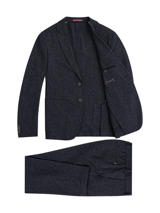Tommy Hilfiger Tailored - Packable TH Flex Slim Fit -puku - 0Z2 BLUE ALLOVER 39   Stockmann - photo 2