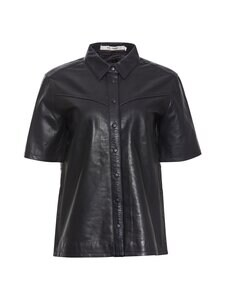 RUE de FEMME - Odessa leather -pusero - 20 BLACK | Stockmann