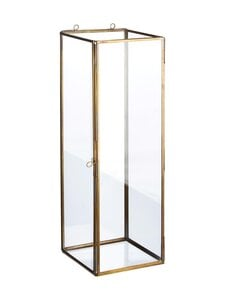 Wikholm Form - Gita Wall Lantern -lyhty 16 x 46 cm - ANTIQUE BRASS | Stockmann