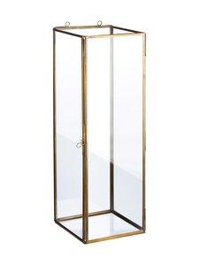 Wikholm Form - Gita Wall Lantern -lyhty 16 x 46 cm - ANTIQUE BRASS | Stockmann