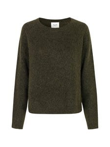 SECOND FEMALE - Brook Knit New Loose O-Neck -neule - 4059 SEA TURTLE | Stockmann