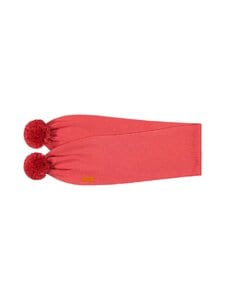 Gugguu - SCARF WITH TUFTS -huivi - CHERRY BOMB | Stockmann