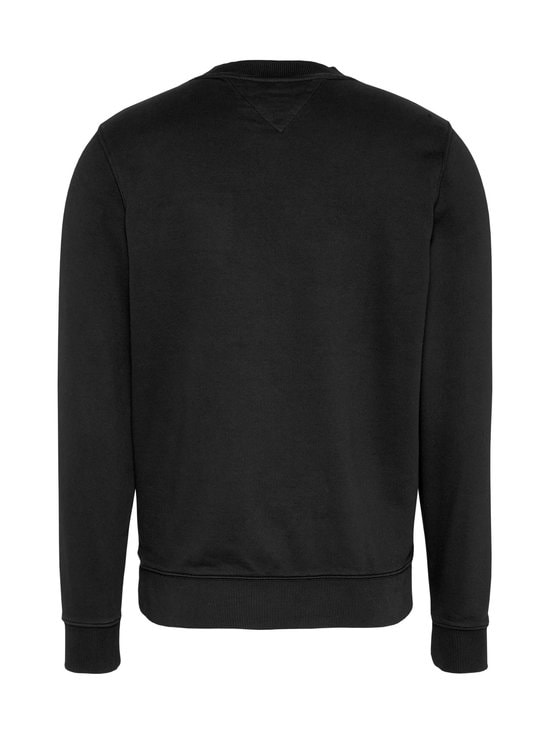 Tommy Jeans - Tjm Washed Corp Logo Crew -collegepaita - BDS BLACK | Stockmann - photo 2