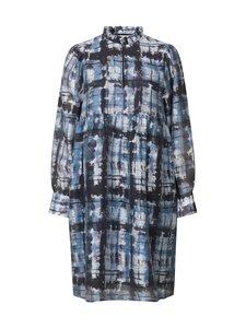 SECOND FEMALE - Imprint Dress -mekko - 5078 BLUE SHADOW | Stockmann