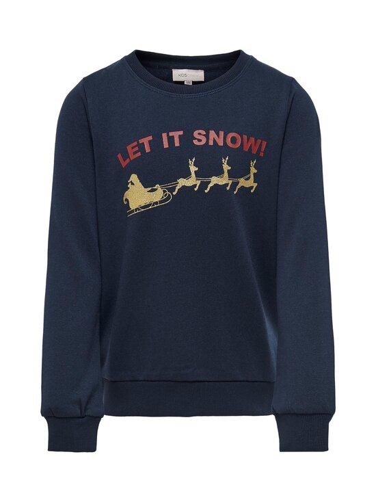 KIDS ONLY - KonChristmas-collegepaita - DARK SAPPHIRE PRINT:LET IT SNOW | Stockmann - photo 1