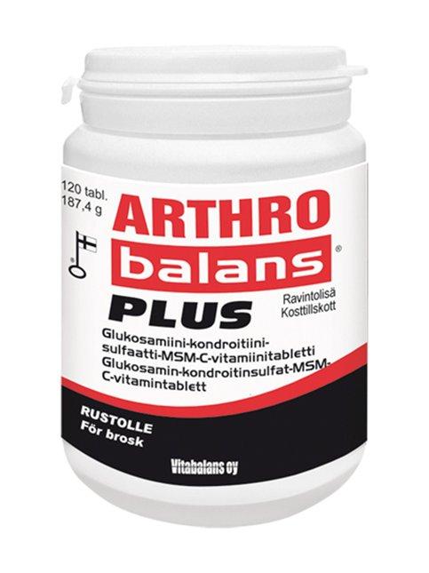 Arthro Balans Plus -ravintolisä 120 tabl./191,6 g