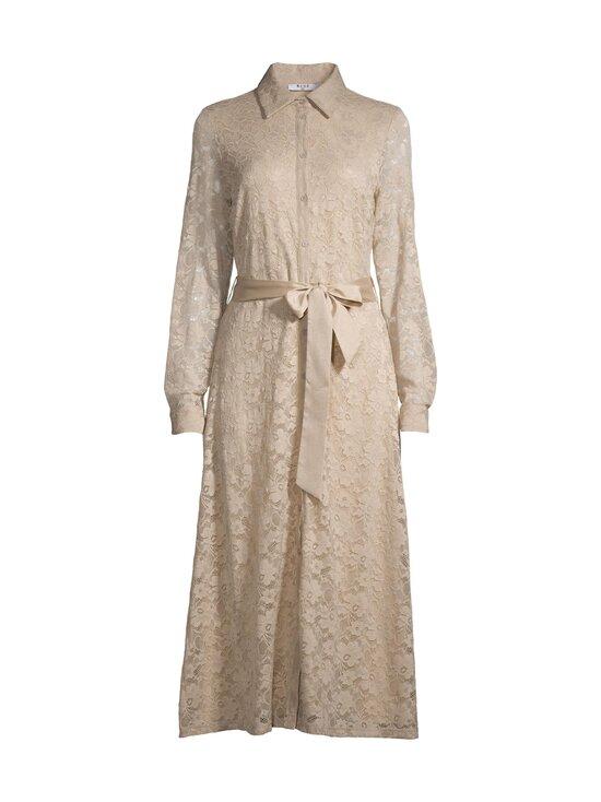 NA-KD - Lace Midi Shirt Dress -mekko - BEIGE | Stockmann - photo 1