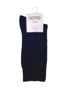 Note - Wool Cable –villasekoitenilkkasukat - 190 BLACK   Stockmann