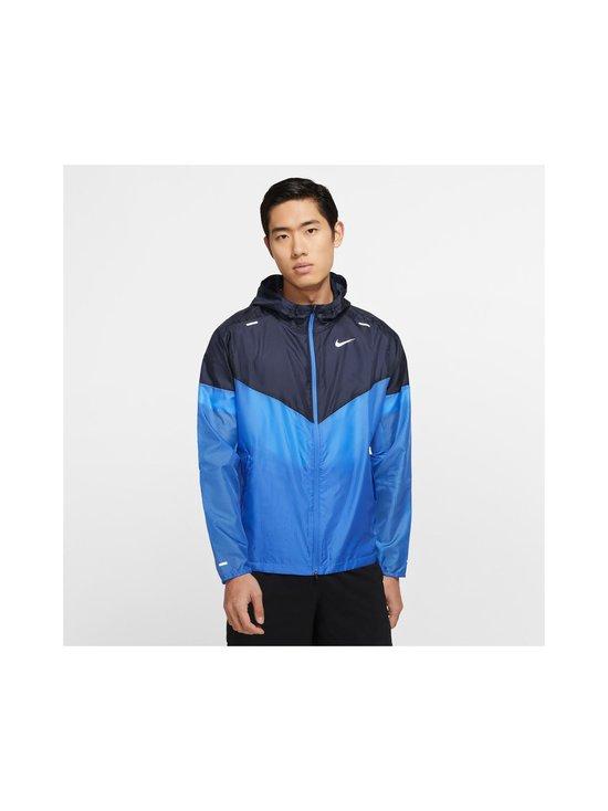 Nike - Windrunner-takki - PACIFIC BLUE/OBSIDIAN/REFLECTIVE SILV | Stockmann - photo 3