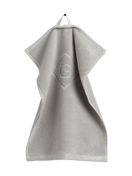 Gant Home - Organic G -pyyhe 30 x 50 cm - 117 LIGHT GREY | Stockmann - photo 1