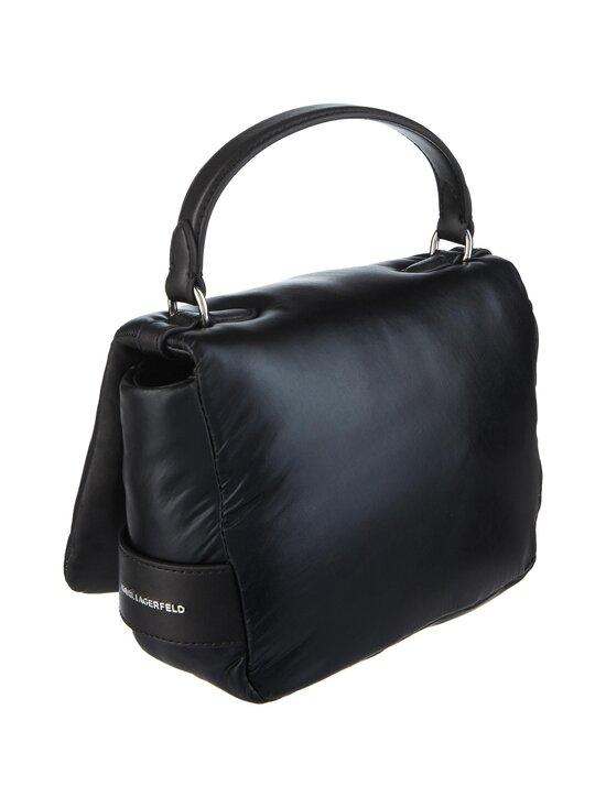 Karl Lagerfeld - K/Ikonik 3D Multi Pin Flap Shoulder Bag -laukku - 980 MTLLC BLK | Stockmann - photo 2
